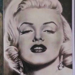 """Legend"" Monroe - Blank Greetings Card 7""x 4½"""