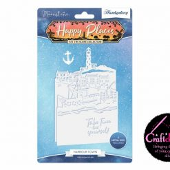 Moonstone - Hunkydory - Set The Scene Collection - Happy Places - Harbour Town Cutting Dies