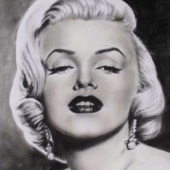 """""""Legend"""" Original Pastel Painting of Marilyn Monroe"""
