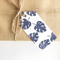 Any Occasion Monstera Leaf Print Gift Tags (set of 4)