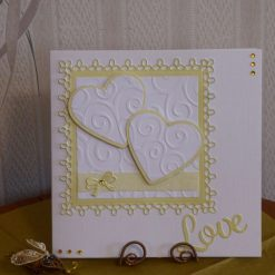 Lemon Hearts Love Card