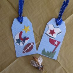 Sports Themed Gift Tags (Set of 2)