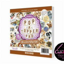 Hunkydory - Pop-A-Topper Pad - It's A Cat's & Dog's Life