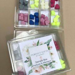Perfume & Aftershave Wax Melt Sample Box