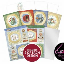 Hunkydory - Little Red Robin - Floating Topper Concept Cards Collection