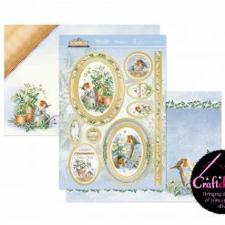 Hunkydory - Little Red Robin - Let It Snow - Luxury Topper Set