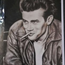 """Rebel Without A Cause - Blank Greetings Card 7""""x 4½"""""""