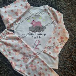 Personalised kids pyjamas!