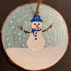 Snowman (Blue) A