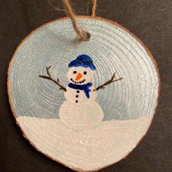 Snowman (Light Blue) A