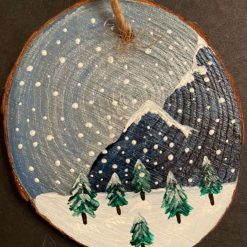 Snowy Mountain (Blue) A