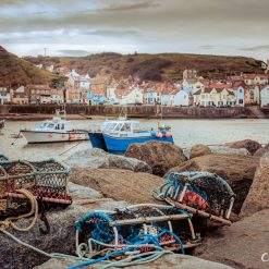 16x10 print of Staithes A Beautiful Yorkshire Fishing Village