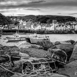 16x10 print of -Staithes A Beautiful Yorkshire Fishing Village