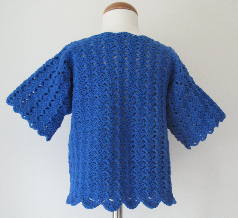 Surfs Up Cardigan by SerendipityGDDs for girls aged 8 or 9