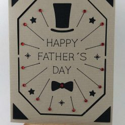Top Hat Father's Day Card - Limited Edition