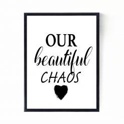 Our Beautiful Chaos Print | Nursery Print | Nursery Decor | Children's Print
