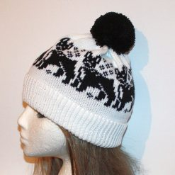 Boston Terrier, French Bulldogs in a Choice of Colours Beanie hat - with or without pompom option - Unisex teenager upto adult size