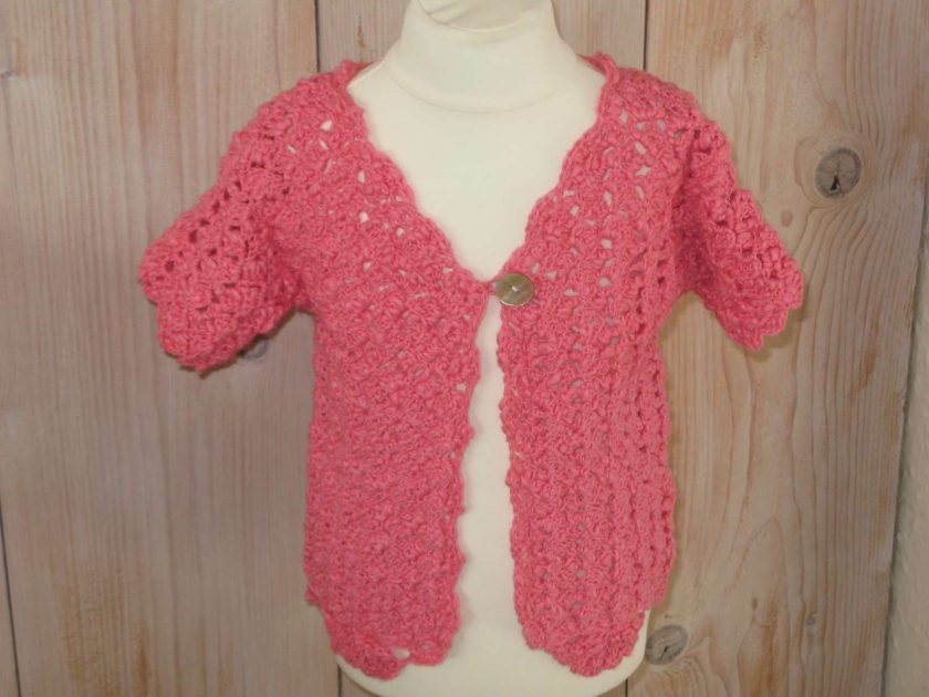 Hot Summer Cardi by SerendipityGDDs for aged 2 or 3