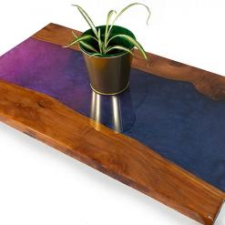 Purple River Side Table