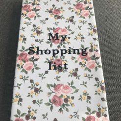 Handmade shopping pad