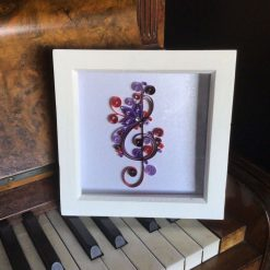 Paper Quilling Treble Clef Frame
