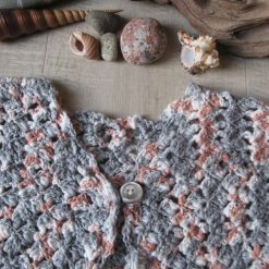 Pebble Beach Cardigan by SerendipityGDDs, for age 4 or 5 3