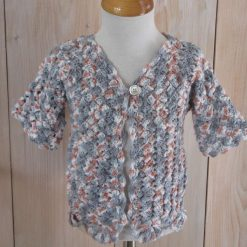 Pebble Beach Cardigan by SerendipityGDDs, for age 4 or 5 1