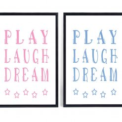 Play Print | Nursery Print | Nursery Decor
