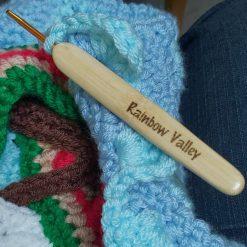 Custom crochet hooks - photo props - personalised