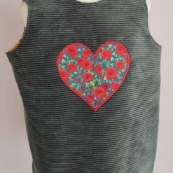 Reversible Pinafore Tunic by SerendipityGDDs for girls aged 3