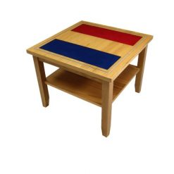 French Flag Coffee Table