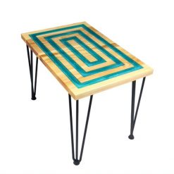 Rectangle Resin Table