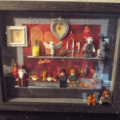 'The Great Hall' Harry Potter Inspired Shadow Frame