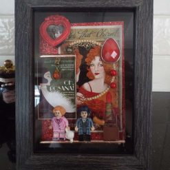 Fantastic Beasts Harry Potter Inspired Shadow Frame