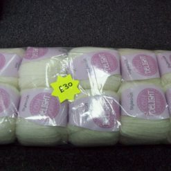 10-x-100g-Stylecraft-Cosy-Delight-brushed-chunky-nordic-white