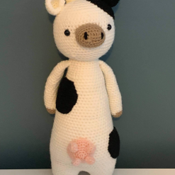 Clara the Adorable Crochet Cow Hand Made With Love