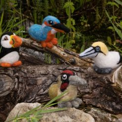 Set of 4 British Birds Birds - Made To Order