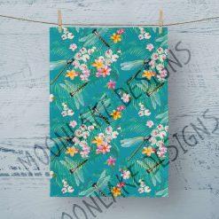 Tea Towel Dragonfly Tropical - 100% Cotton Poplin **Exclusive** (Copy)