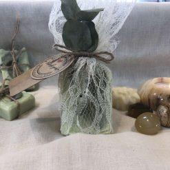 Mini mint soap favour