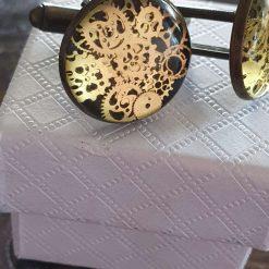 Handmade cufflinks