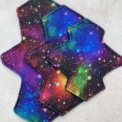 Bright Galaxy bundle Cloth Menstrual Pads moderate/regular flow