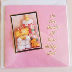 Birth card (girl)