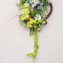 Lemon and Lime - Medium Sized Custom Artificial Wreath Available to Order Now