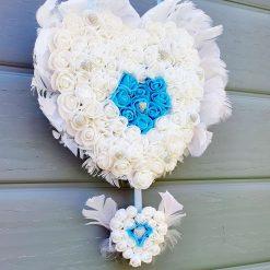 Double Heart Memorial Plaque ♥