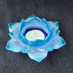 Resin Flower Tealight Holder - Colours fully Customisable