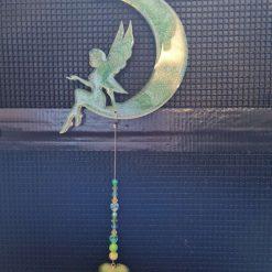 Fairy on the moon Suncatcher