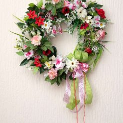 Childhood Summer - Large Sized Custom Artificial Wreath Available to Buy Now