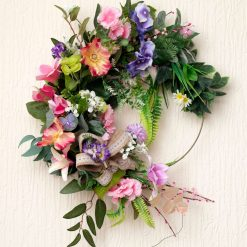 Midsummer Night - Large Sized Custom Artificial Wreath Available to Buy Now