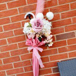 Beautiful Brolly Flower Arrangement