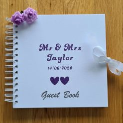 Personalised Flower girl and Page boy hanger